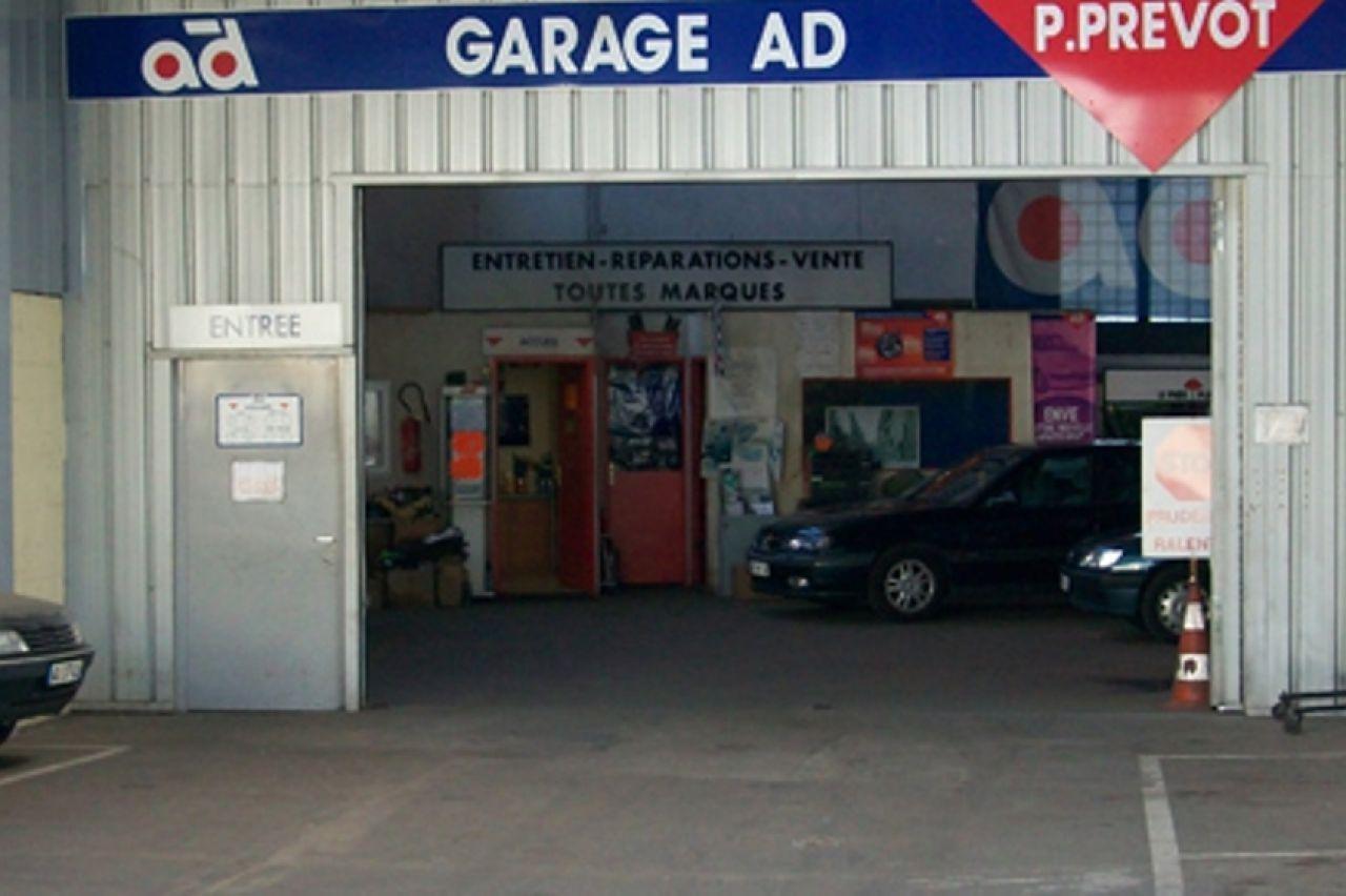 Garage prevot ad nancy services for Garage ad la tourlandry