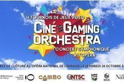 Nancy : Ciné Gaming Orchestra