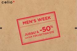 Celio : Men's week