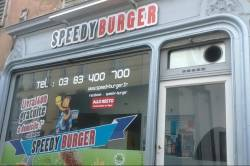 Speedy burger - commerces Nancy