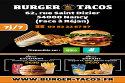 Burger Tacos - Restaurants Nancy