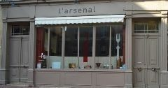 L'Arsenal - commerces Nancy